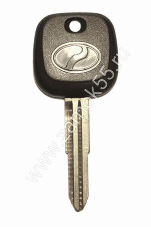 Бланк ключ Toyota с местом под чип